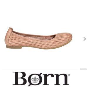 💕SALE💕Born Julianne Perforated Ballet Flats